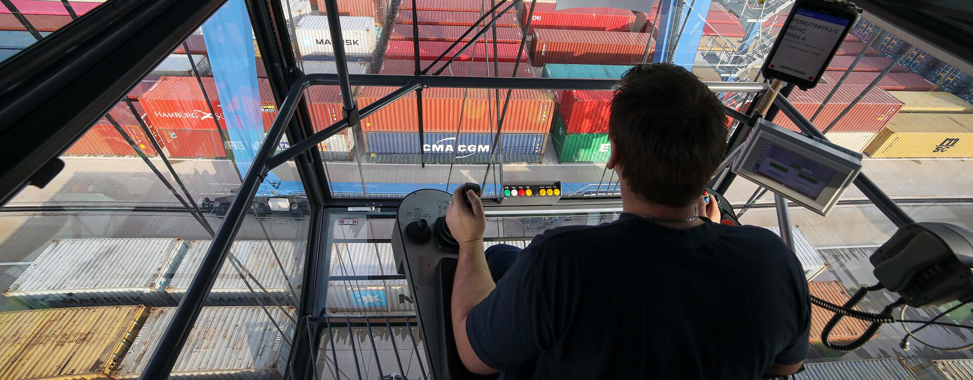 Leistungsfähige Container-Drehscheibe für die Region